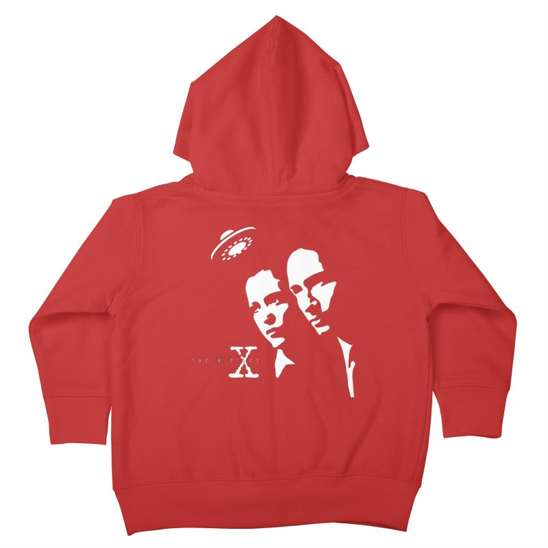 They're Out There Kids Toddler Zip-Up Hoody by markurz's Artist Shop