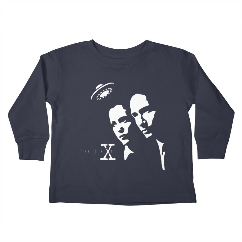 They're Out There Kids Toddler Longsleeve T-Shirt by markurz's Artist Shop