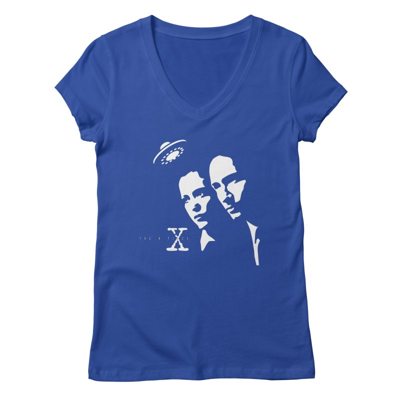 They're Out There Women's Regular V-Neck by markurz's Artist Shop