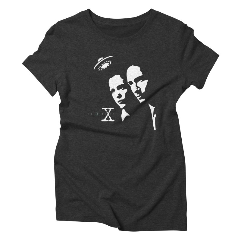 They're Out There Women's Triblend T-shirt by markurz's Artist Shop