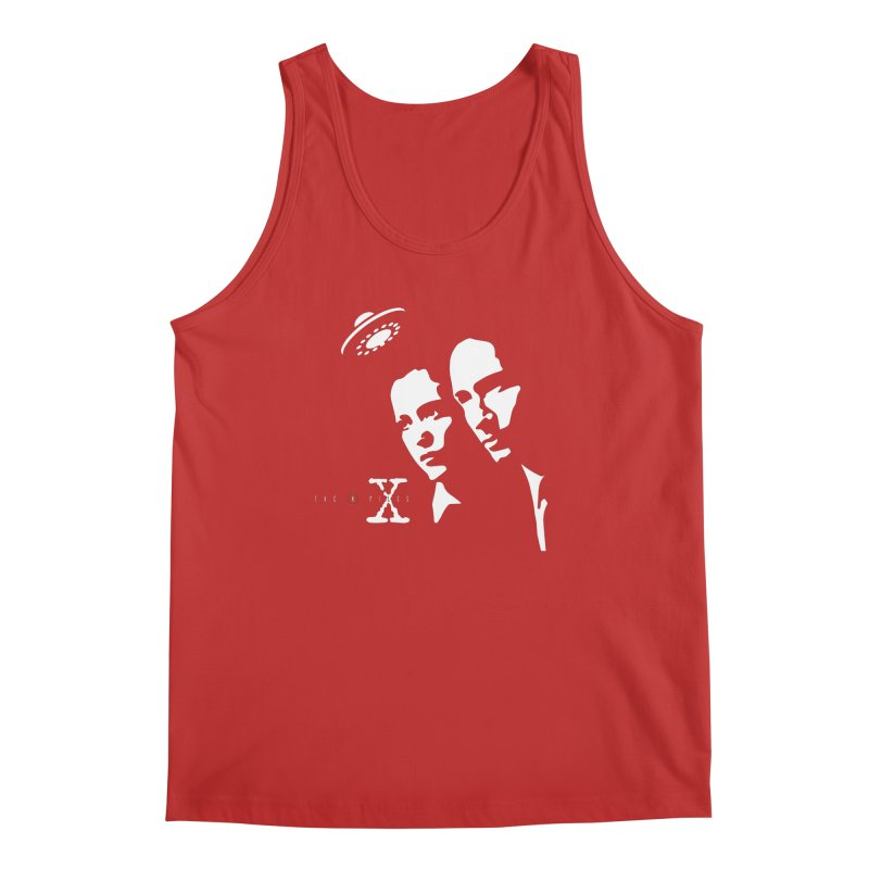 They're Out There Men's Regular Tank by markurz's Artist Shop