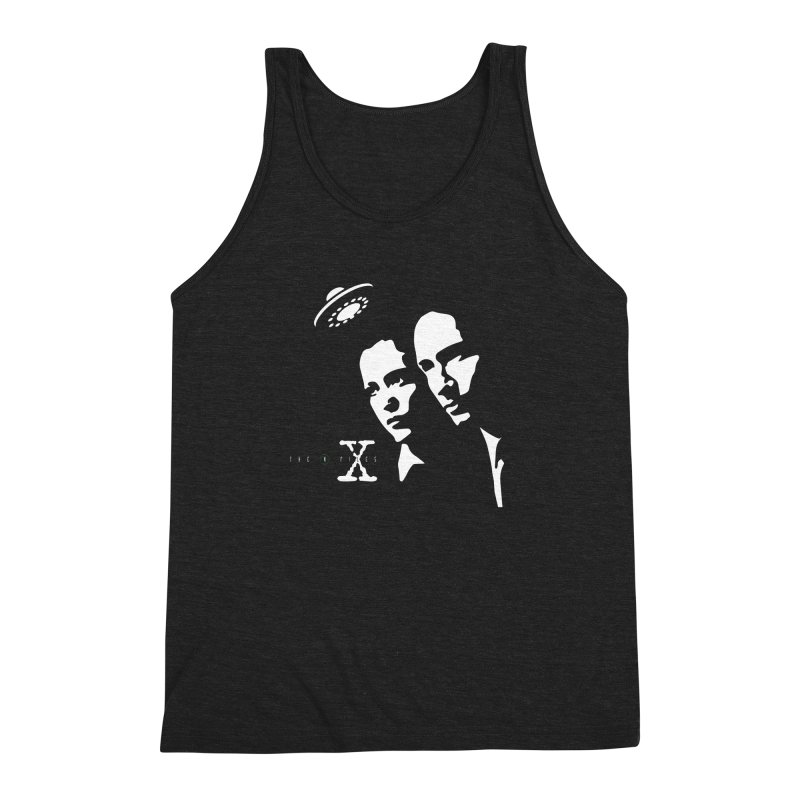 They're Out There Men's Triblend Tank by markurz's Artist Shop