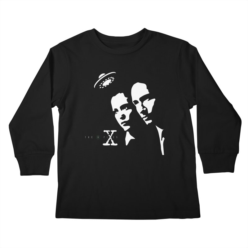 They're Out There Kids Longsleeve T-Shirt by markurz's Artist Shop