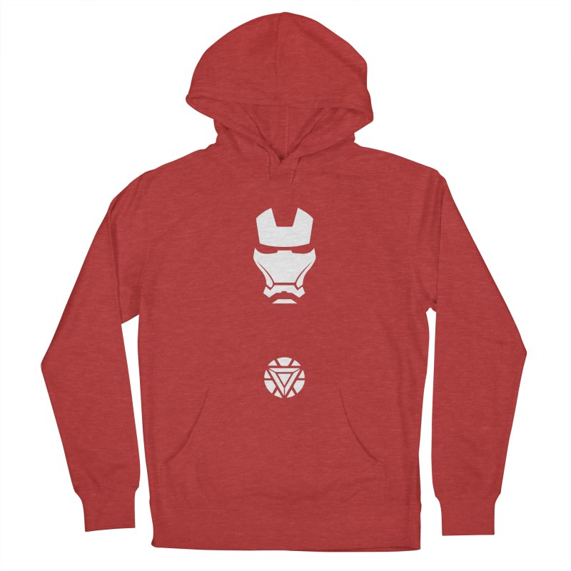 Iron Man Men's French Terry Pullover Hoody by markurz's Artist Shop