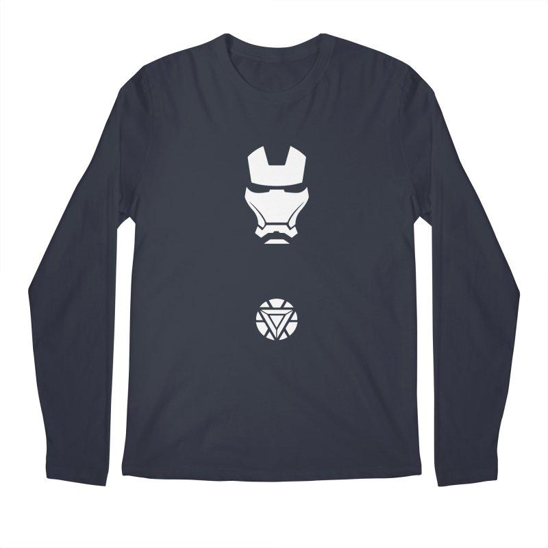 Iron Man Men's Regular Longsleeve T-Shirt by markurz's Artist Shop