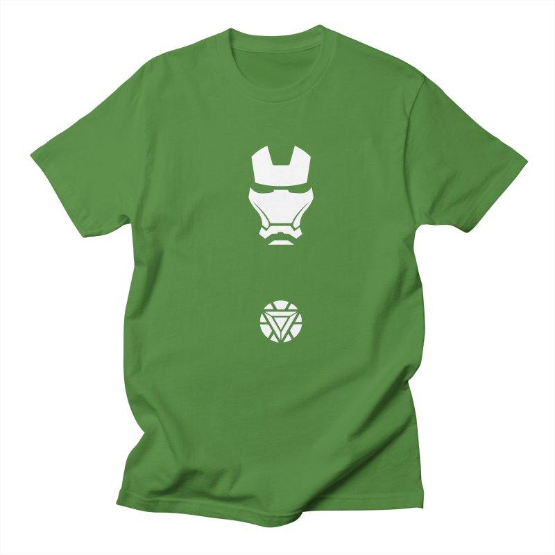 Iron Man Men's Regular T-Shirt by markurz's Artist Shop