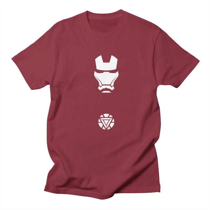 Iron Man Men's T-shirt by markurz's Artist Shop