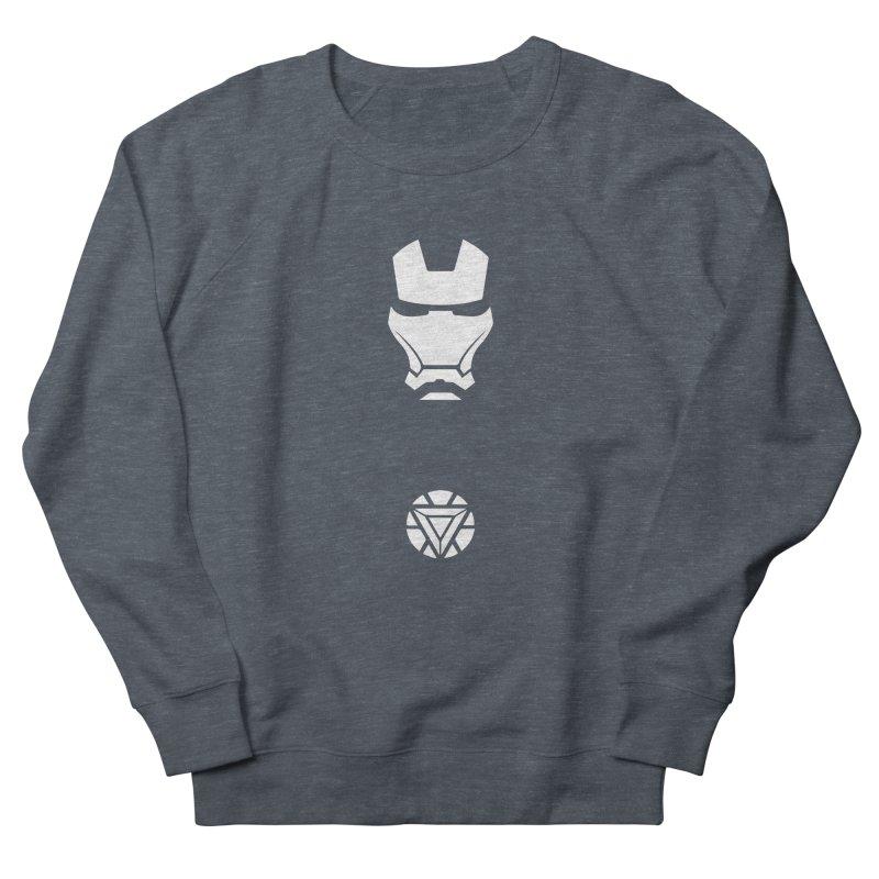 Iron Man Women's French Terry Sweatshirt by markurz's Artist Shop