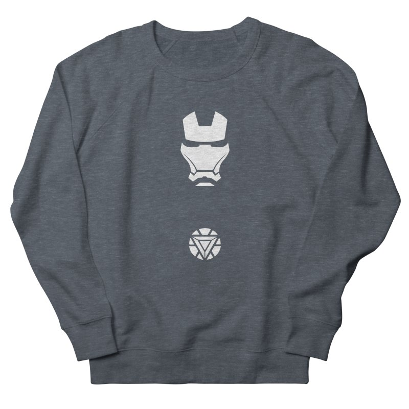 Iron Man Men's French Terry Sweatshirt by markurz's Artist Shop