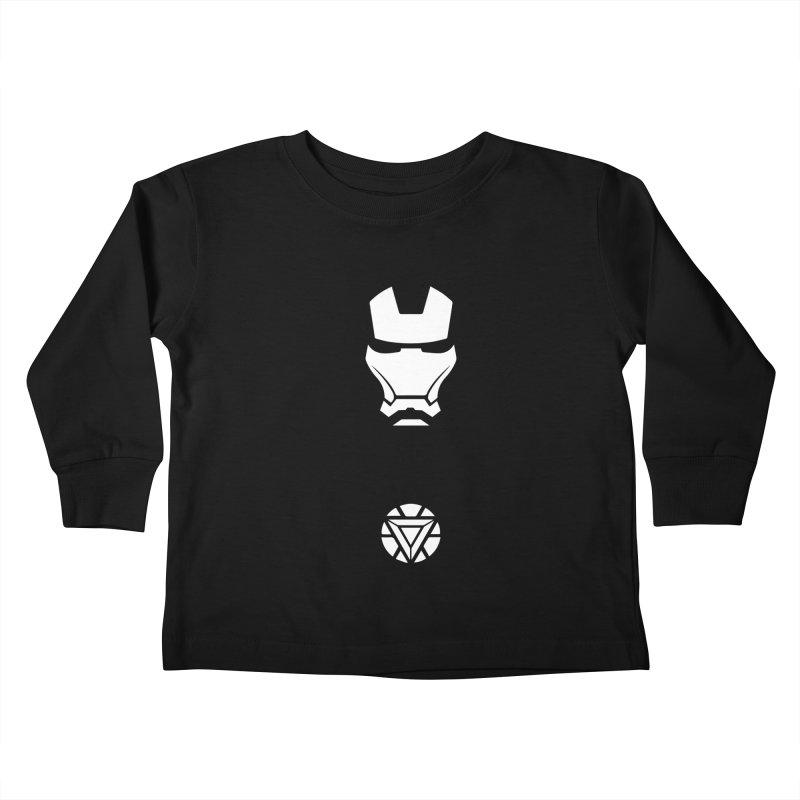 Iron Man Kids Toddler Longsleeve T-Shirt by markurz's Artist Shop