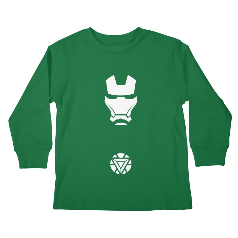Iron Man Kids Longsleeve T-Shirt by markurz's Artist Shop
