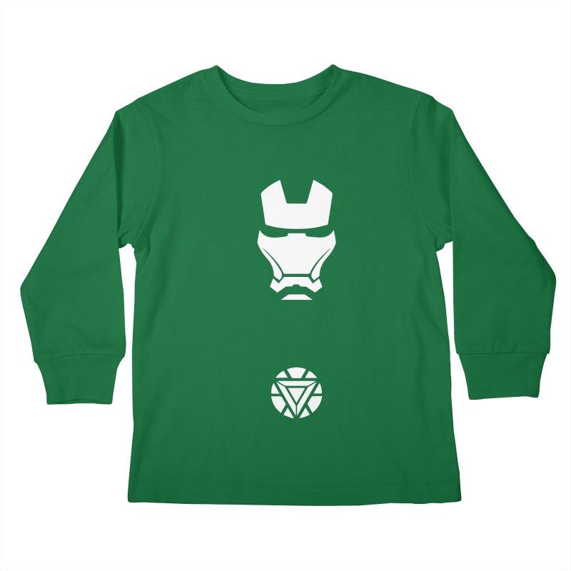 Iron Man Kids Longsleeve T-Shirt by markurz's Artist Shop