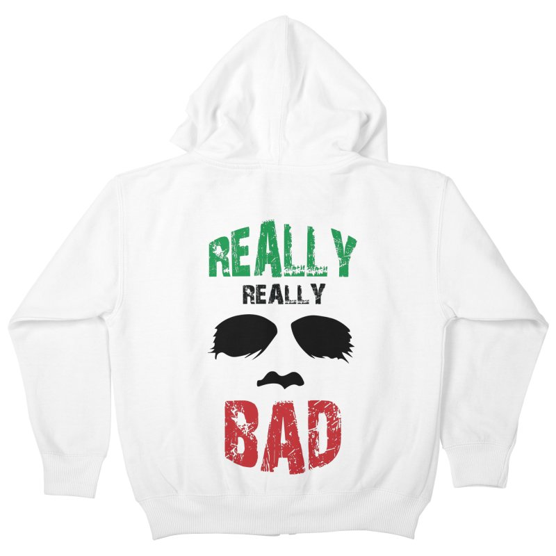 Really Really Bad Kids Zip-Up Hoody by markurz's Artist Shop
