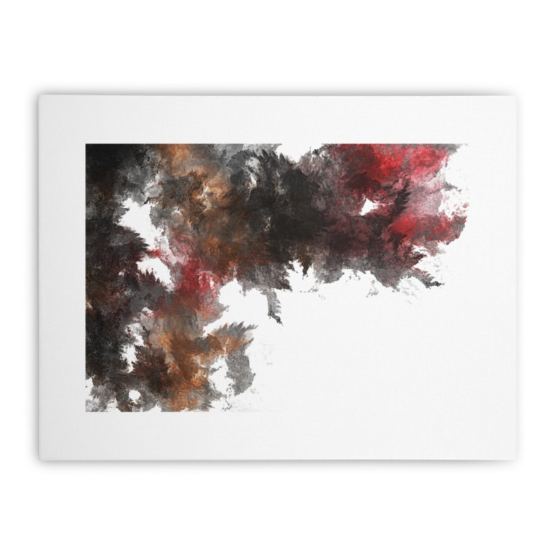 Messy Home Stretched Canvas by markurz's Artist Shop