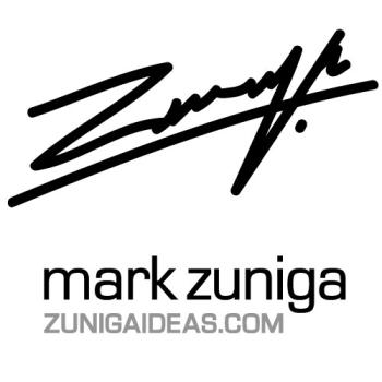 The Art of Mark Zuniga Logo