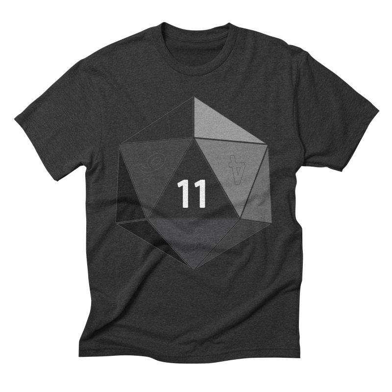 Eleven Men's Triblend T-Shirt by marlamakesstuff's Artist Shop