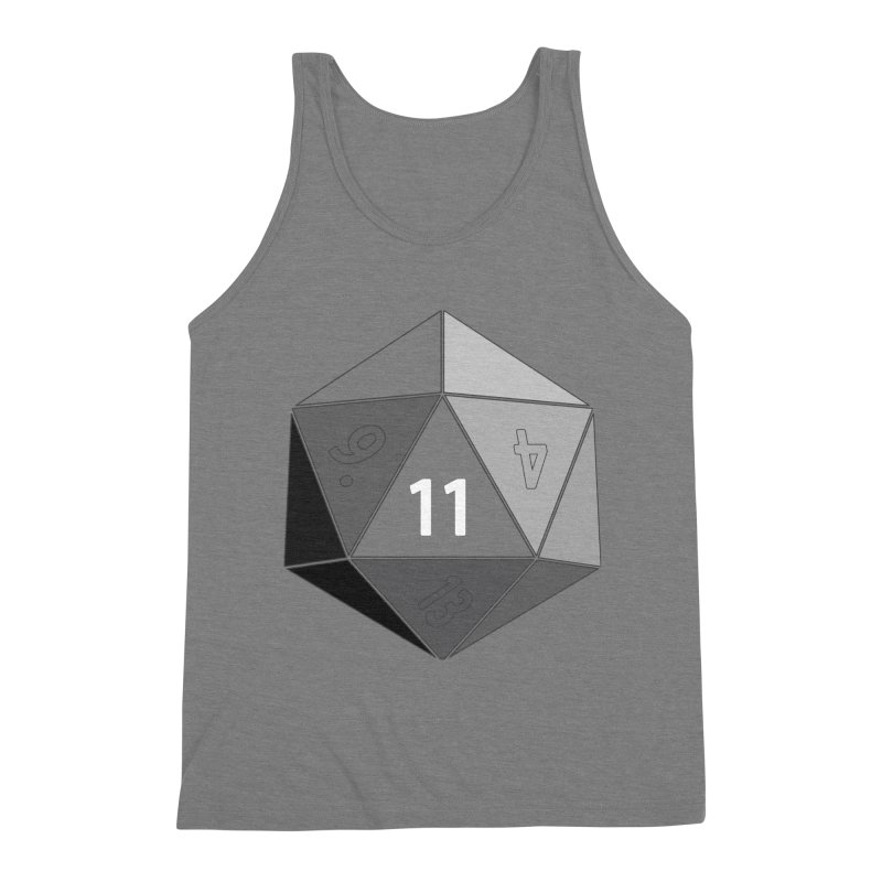 Eleven Men's Triblend Tank by marlamakesstuff's Artist Shop