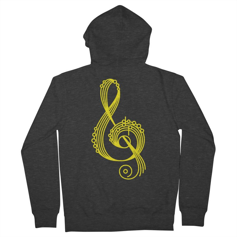 Ampersound Women's French Terry Zip-Up Hoody by marlamakesstuff's Artist Shop