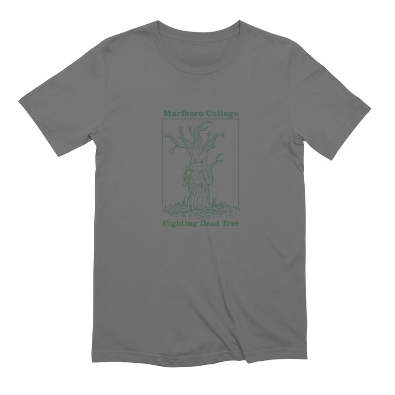 Unisex T-shirt with the Redesigned Fighting Dead Tree Men's Extra Soft T-Shirt by Marlboro Store's Artist Shop
