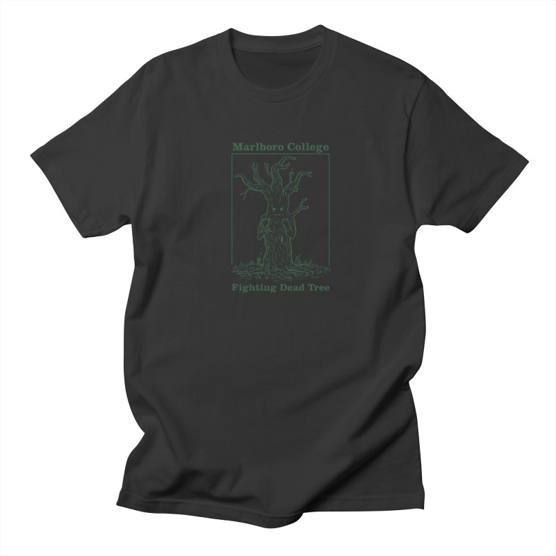 Unisex T-shirt with the Redesigned Fighting Dead Tree Men's Regular T-Shirt by Marlboro Store's Artist Shop