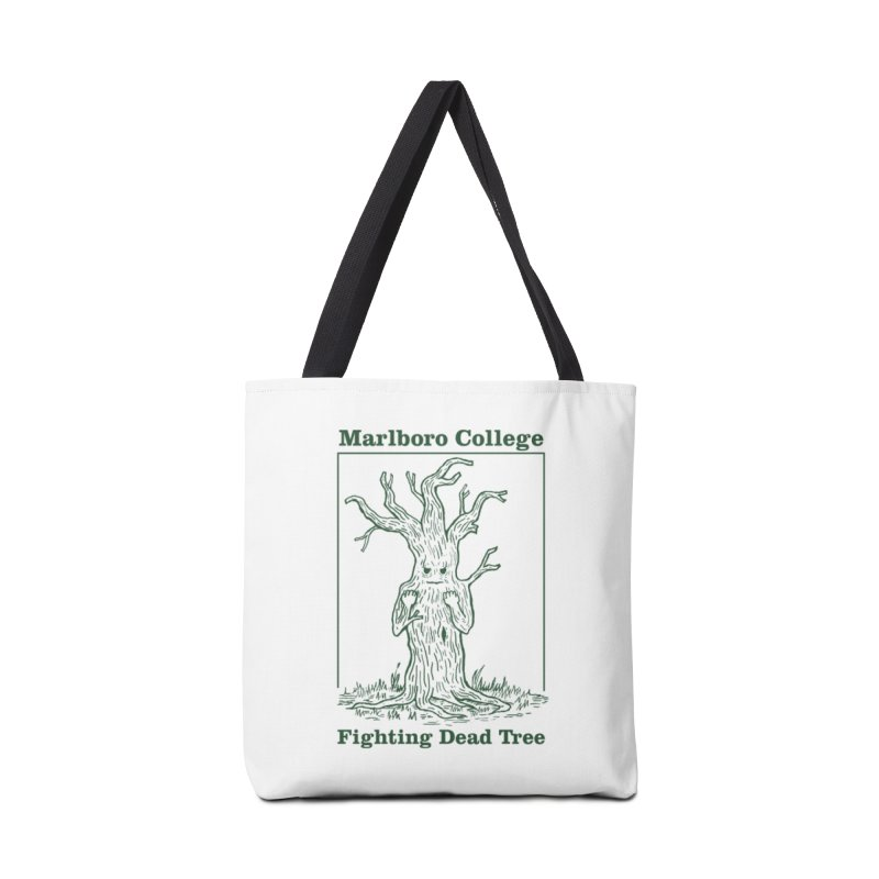 Bag with the Redesigned Fighting Dead Tree in Tote Bag by Marlboro Store's Artist Shop