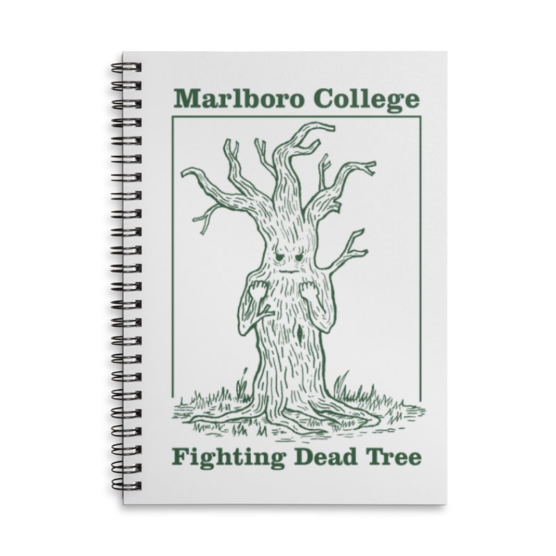 Notebook with the Redesigned Fighting Dead Tree Accessories Lined Spiral Notebook by Marlboro Store's Artist Shop