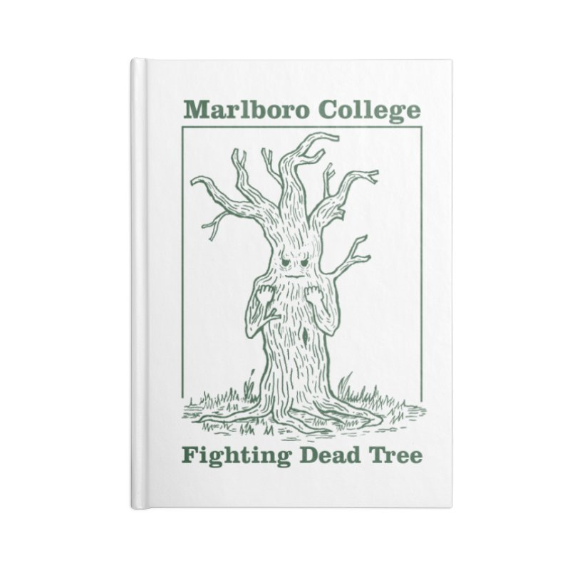 Notebook with the Redesigned Fighting Dead Tree Accessories Blank Journal Notebook by Marlboro Store's Artist Shop