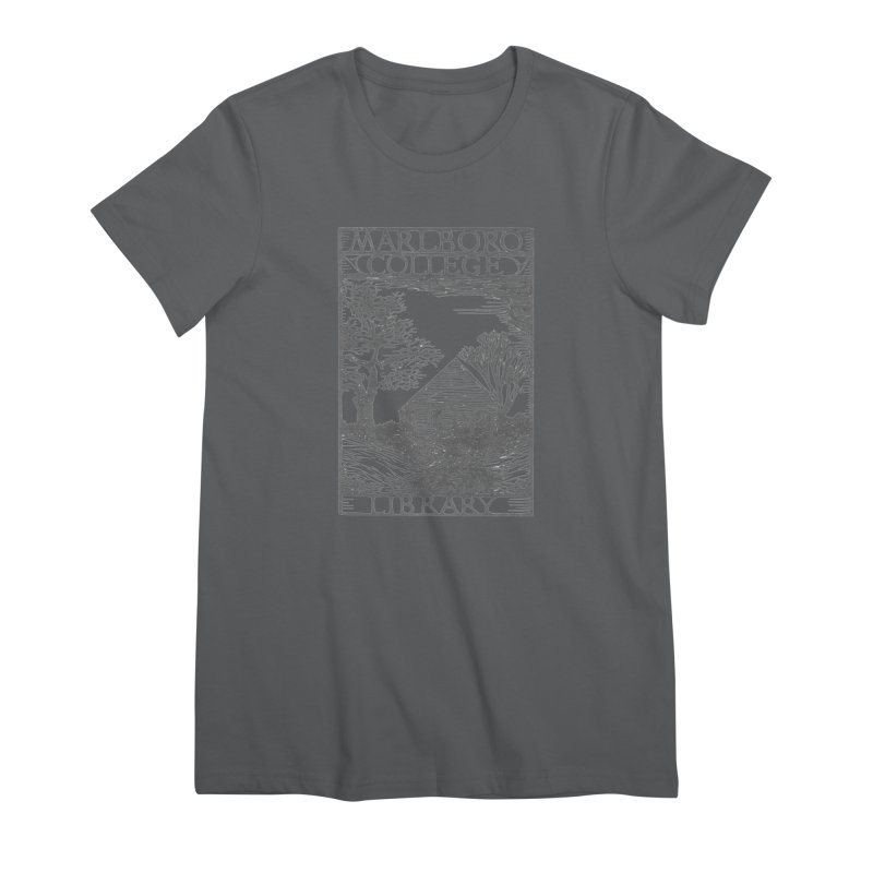 Unisex T-shirt with the Library Woodcut Women's T-Shirt by Marlboro Store's Artist Shop