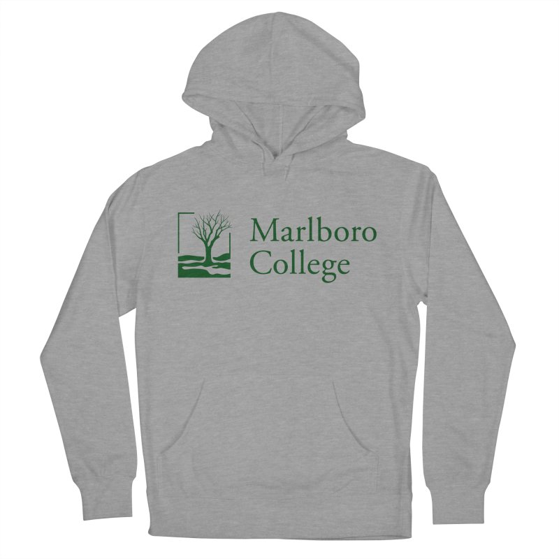 Unisex Sweatshirt with the Logo in Men's French Terry Pullover Hoody Heather Graphite by Marlboro Store's Artist Shop