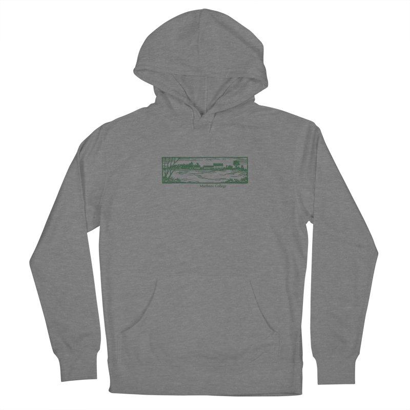 Unisex Sweatshirt  with Campus Woodcut Women's Pullover Hoody by Marlboro Store's Artist Shop