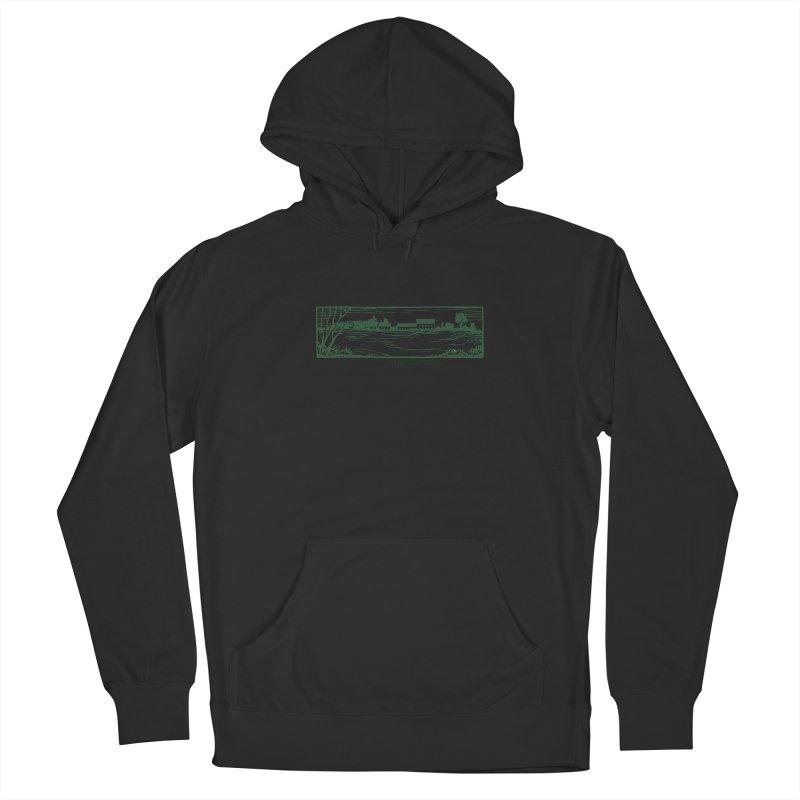 Unisex Sweatshirt  with Campus Woodcut Men's Pullover Hoody by Marlboro Store's Artist Shop