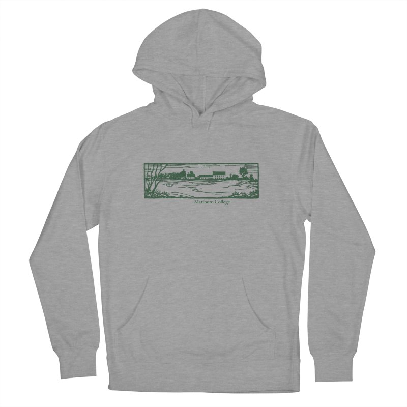 Unisex Sweatshirt  with Campus Woodcut Men's French Terry Pullover Hoody by Marlboro Store's Artist Shop