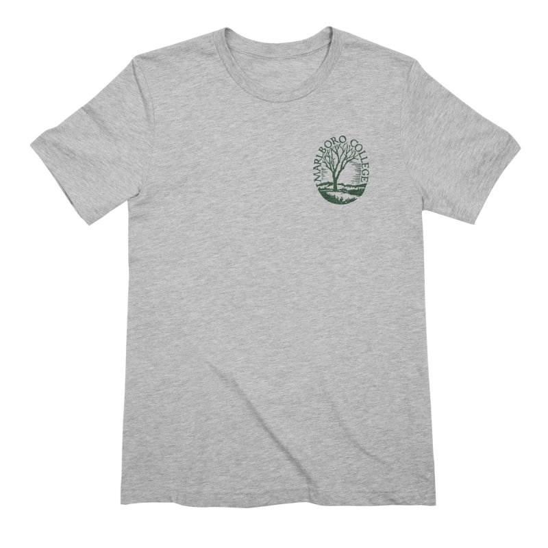 Unisex T-Shirt with the Seal in Men's Extra Soft T-Shirt Heather Grey by Marlboro Store's Artist Shop