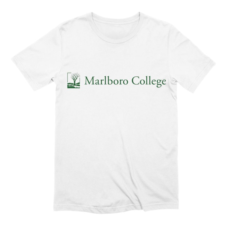 V-Neck T-Shirt with the Logo Men's Extra Soft T-Shirt by Marlboro Store's Artist Shop
