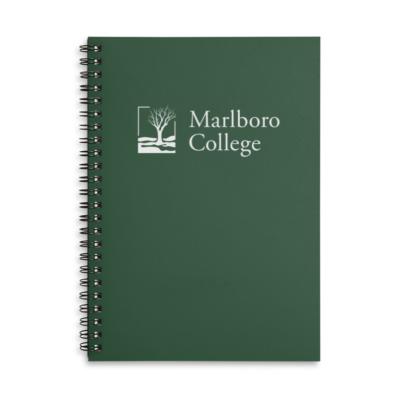 Notebook with College Logo Accessories Lined Spiral Notebook by Marlboro Store's Artist Shop