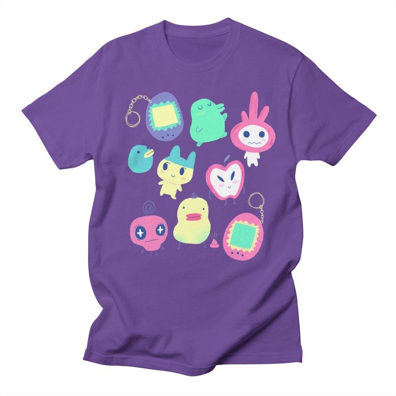 Tamagotchi Buddies Men's T-Shirt by Marlowe Dobbe