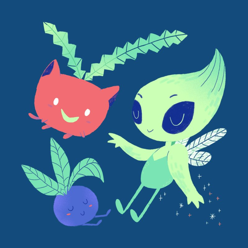 Grass Type Friends by Marlowe Dobbe
