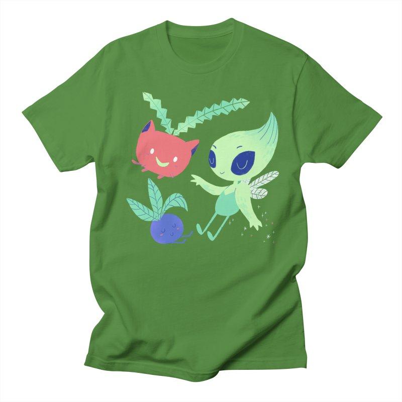 Grass Type Friends Men's T-Shirt by Marlowe Dobbe