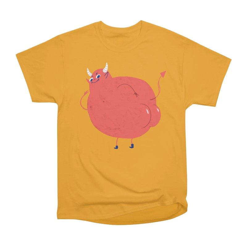 Devil Buns Women's Heavyweight Unisex T-Shirt by Marlowe Dobbe