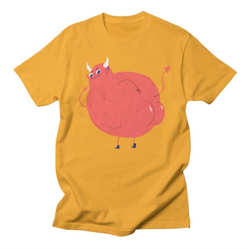 Devil Buns Men's T-Shirt by Marlowe Dobbe