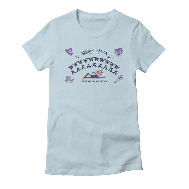 WAL-OUIJA Board Women's Fitted T-Shirt by Marlowe Dobbe