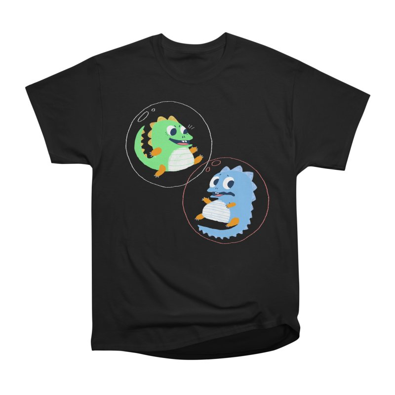 Bub and Bob Men's Heavyweight T-Shirt by Marlowe Dobbe