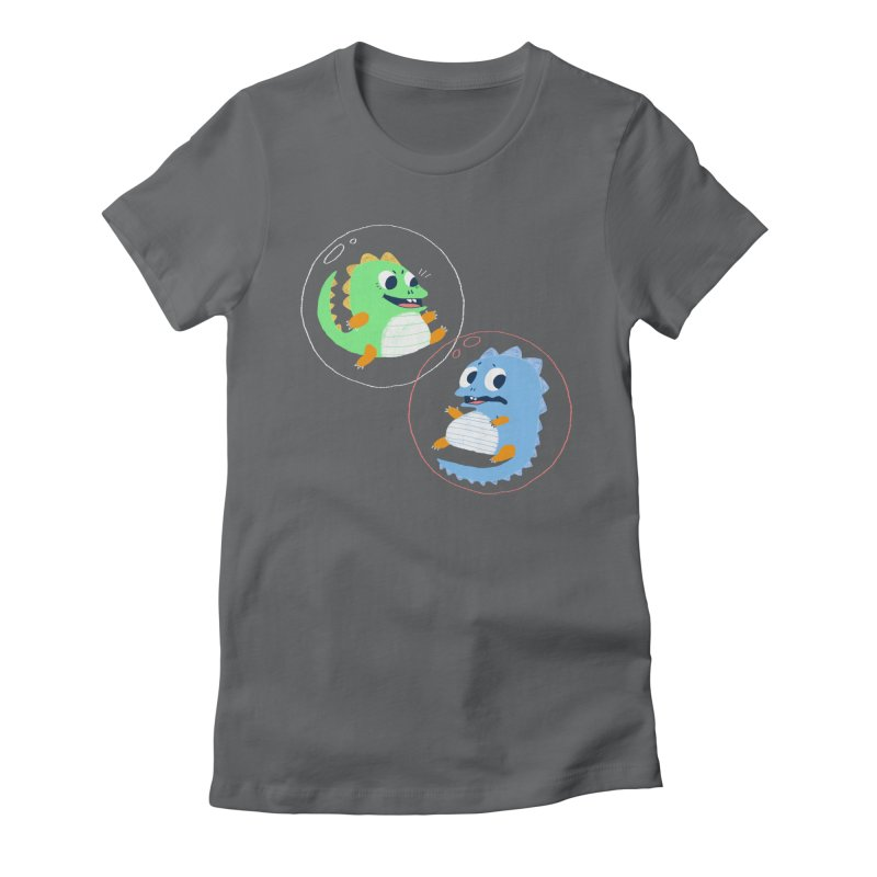 Bub and Bob Women's Fitted T-Shirt by Marlowe Dobbe