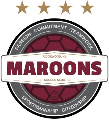 Maroons Soccer Club Gifts & Merch Logo