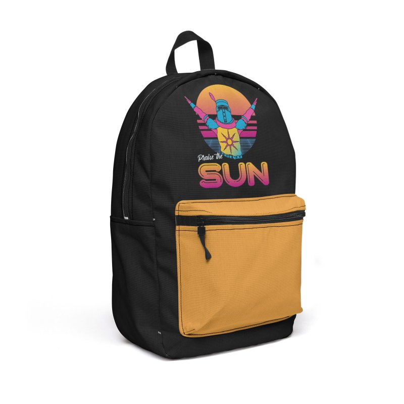 Praise the sun Accessories Backpack Bag by marpeach's Artist Shop