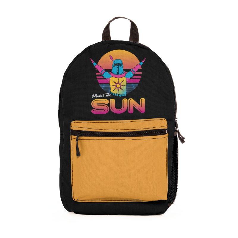 Praise the sun Accessories Bag by marpeach's Artist Shop