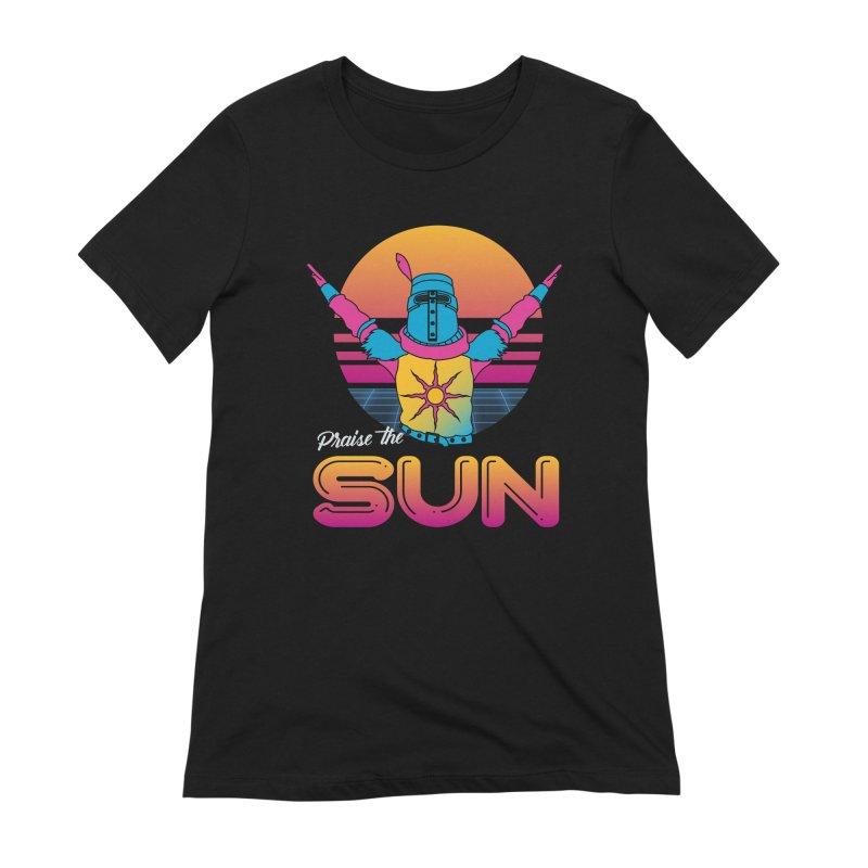 Praise the sun Women's Extra Soft T-Shirt by marpeach's Artist Shop