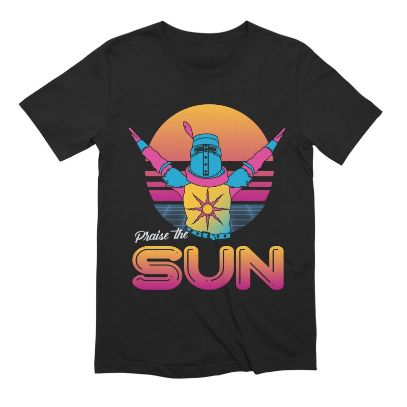 Praise the sun Men's Extra Soft T-Shirt by marpeach's Artist Shop