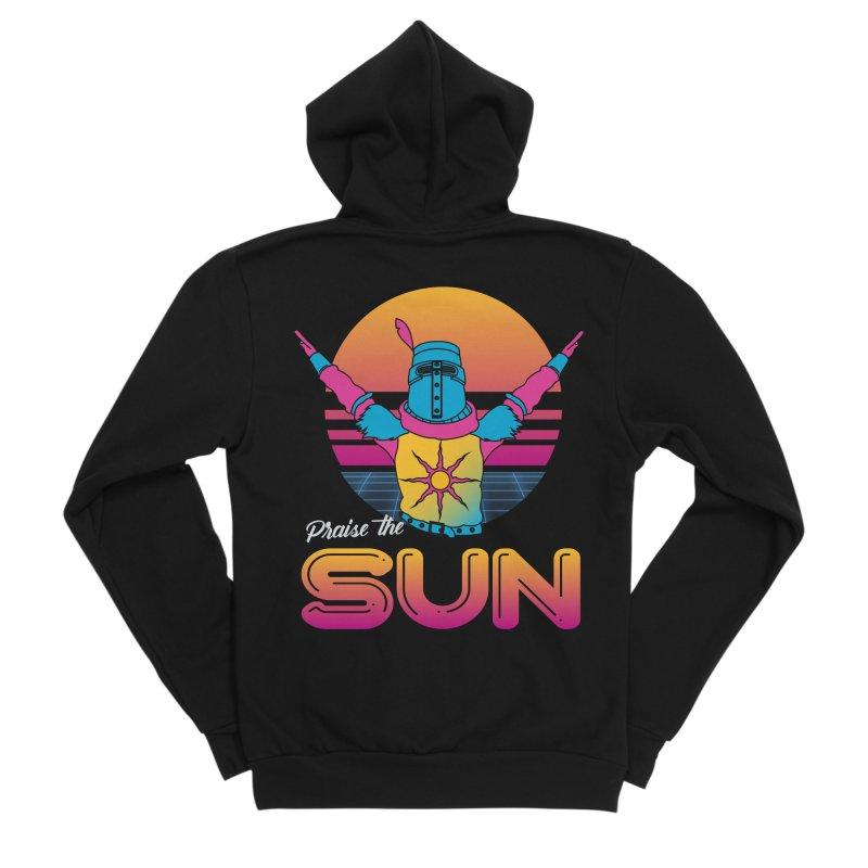 Praise the sun Men's Sponge Fleece Zip-Up Hoody by marpeach's Artist Shop