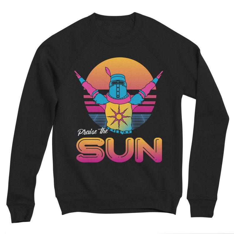Praise the sun Men's Sponge Fleece Sweatshirt by marpeach's Artist Shop